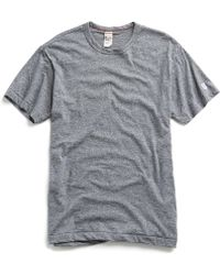 Todd Snyder - Champion Classic T-shirt In Salt And Pepper - Lyst