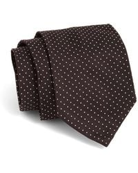 Todd Snyder - Hand-finished Silk Micro Dot Tie In Black - Lyst