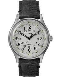 Timex - Timex Mk1 Steel Watch With White Dial - Lyst