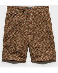 """Todd Synder X Champion 10"""" Japanese Club Short - Brown"""