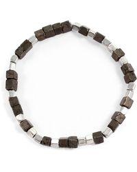 """George Frost - """"eternal"""" Morse Bracelet - Lyst"""