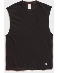 Todd Synder X Champion Champion Muscle Tee - Black