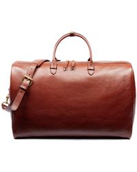 Lotuff Leather No. 12 Weekender In Chestnut - Brown
