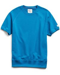 Todd Synder X Champion Lightweight Short Sleeve Sweatshirt - Blue