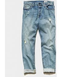 Todd Synder X Champion Straight Fit Japanese Stretch Selvedge Jean - Blue