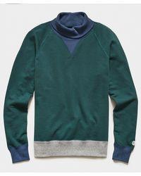 Todd Synder X Champion - Colorblock Turtlenck Sweatshirt - Lyst