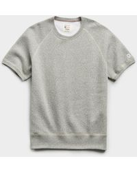 Todd Synder X Champion Heavyweight Short Sleeve Sweatshirt - Grey