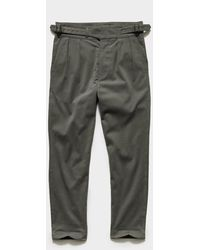 Todd Synder X Champion Italian Gurkha Trouser In Olive - Green