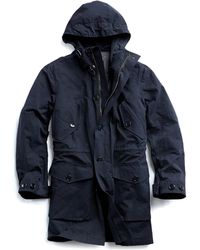 Todd Synder X Champion Made In New York 3-in-1 Parka In Navy - Blue