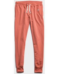 Todd Synder X Champion Lightweight Slim Jogger Sweatpant - Orange