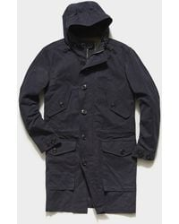 Todd Synder X Champion Made In New York 3-1 Parka - Blue
