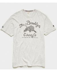 Todd Synder X Champion Brooklyn Circus Tiger Graphic Teephic Tee - Multicolor
