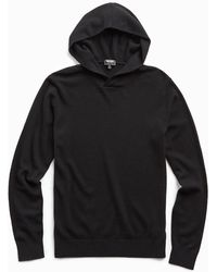 Todd Synder X Champion Cashmere Hoodie In Black