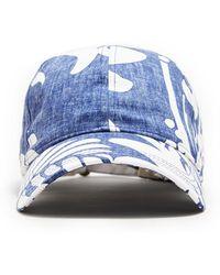 NEW ERA HATS Exclusive New Era + Reyn Spooner Dad Hat In Blue