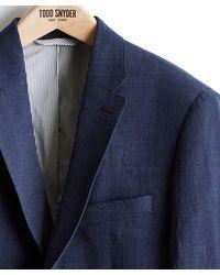 Todd Synder X Champion - Linen Sutton Suit Jacket - Lyst