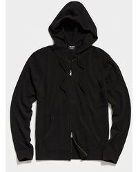 Todd Synder X Champion Cashmere Full Zip Hoodie - Black