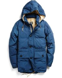 Todd Synder X Champion Rocky Mountain Featherbed Expedition Down Parka In Blue