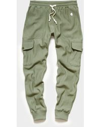 Todd Synder X Champion Utility Cargo Sweatpant - Green