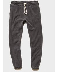 Todd Synder X Champion Garment Dyed Classic Sweatpant - Grey