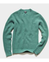 Todd Synder X Champion Recycled Cashmere Crew - Green
