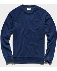 Todd Synder X Champion Indigo Surf Terry Sweatshirt - Blue