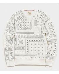 Todd Synder X Champion - Bandana Print Sweatshirt - Lyst