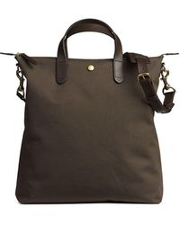 Mismo M/s Shopper In Army - Black
