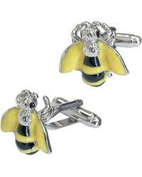 Link Up - Bee Cufflinks - Lyst