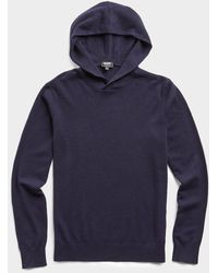 Todd Synder X Champion Cashmere Hoodie - Blue