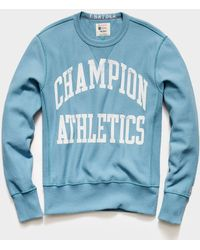 Todd Synder X Champion Champion Athletics Sweatshirt - Blue