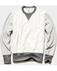Todd Synder X Champion - Colorblock Sweatshirt - Lyst