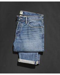 Todd Synder X Champion Slim Fit Selvedge Worn Wash - Blue