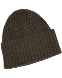 f019d9764e7 Hot Drake s - Brushed Merino Wool Hat In Green - Lyst