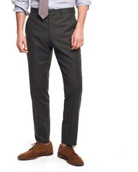 Todd Snyder - Made In The Usa Sutton Wool Flannel Suit Trouser In Olive - Lyst