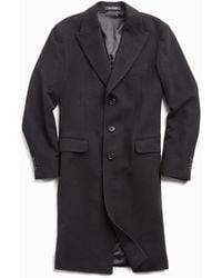 Todd Synder X Champion Italian Cashmere Topcoat - Black