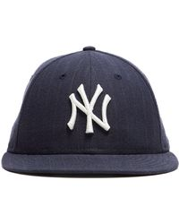 NEW ERA HATS New York Yankees Cap In Navy Pinstripe - Blue