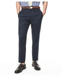 Todd Snyder - Sutton Suit Pant In Italian Natural Stretch Navy Wool - Lyst