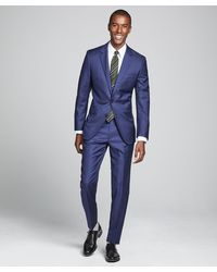 Todd Synder X Champion Sutton Suit Jacket In Italian Blue Wool Twill