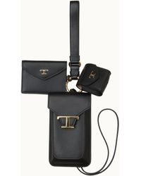 Tod's Iphone 3 In 1 Holder - Black
