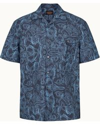 Tod's Shirt In Cotton - Blue