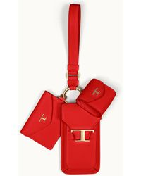 Tod's Iphone 3-in-1 Holder - Red