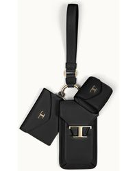 Tod's Iphone 3-in-1 Holder - Black