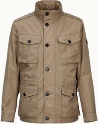 Tod's Urban Field Jacket - Natural