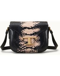 Tod's Crossbody In Python Micro - Pink