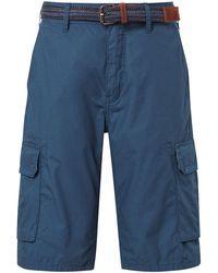 Tom Tailor Relaxed Morris Bermuda Shorts - Blau