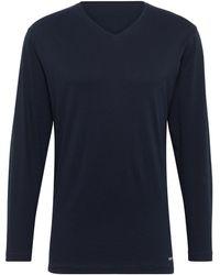 Tom Tailor Pyjama Langarmshirt - Blau