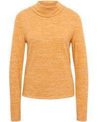 Tom Tailor Sweater im 2-in-1-Look - Gelb