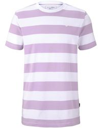 Tom Tailor DENIM Gestreiftes T-Shirt - Mehrfarbig