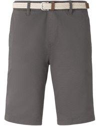 Tom Tailor DENIM Chino Shorts - Grau