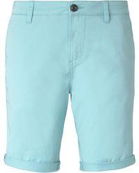 Tom Tailor DENIM Slim Chino Shorts - Blau